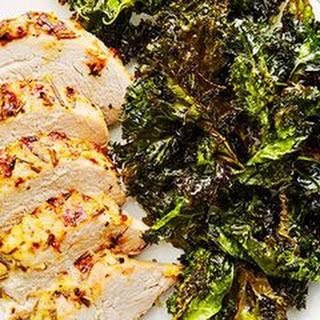 Pork with Crispy Kale.