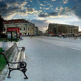 by Milos Krsmanovic - City,  Street & Park  Street Scenes