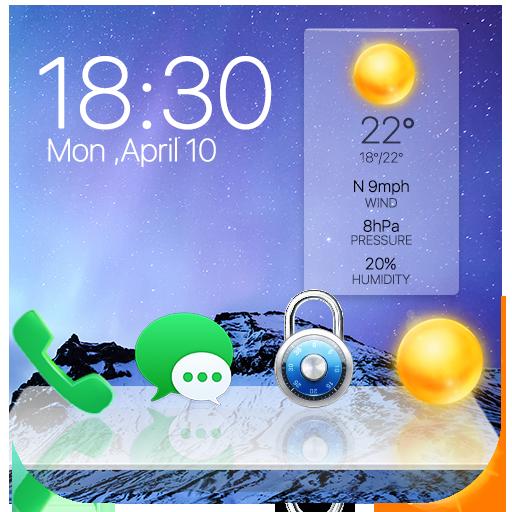 Lock Screen Clock Apps