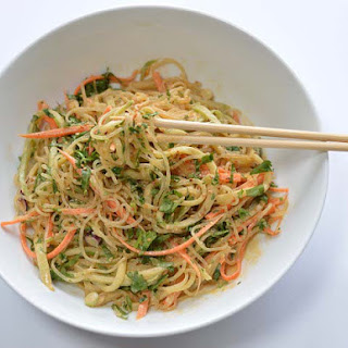 Sesame Kelp Noodles.