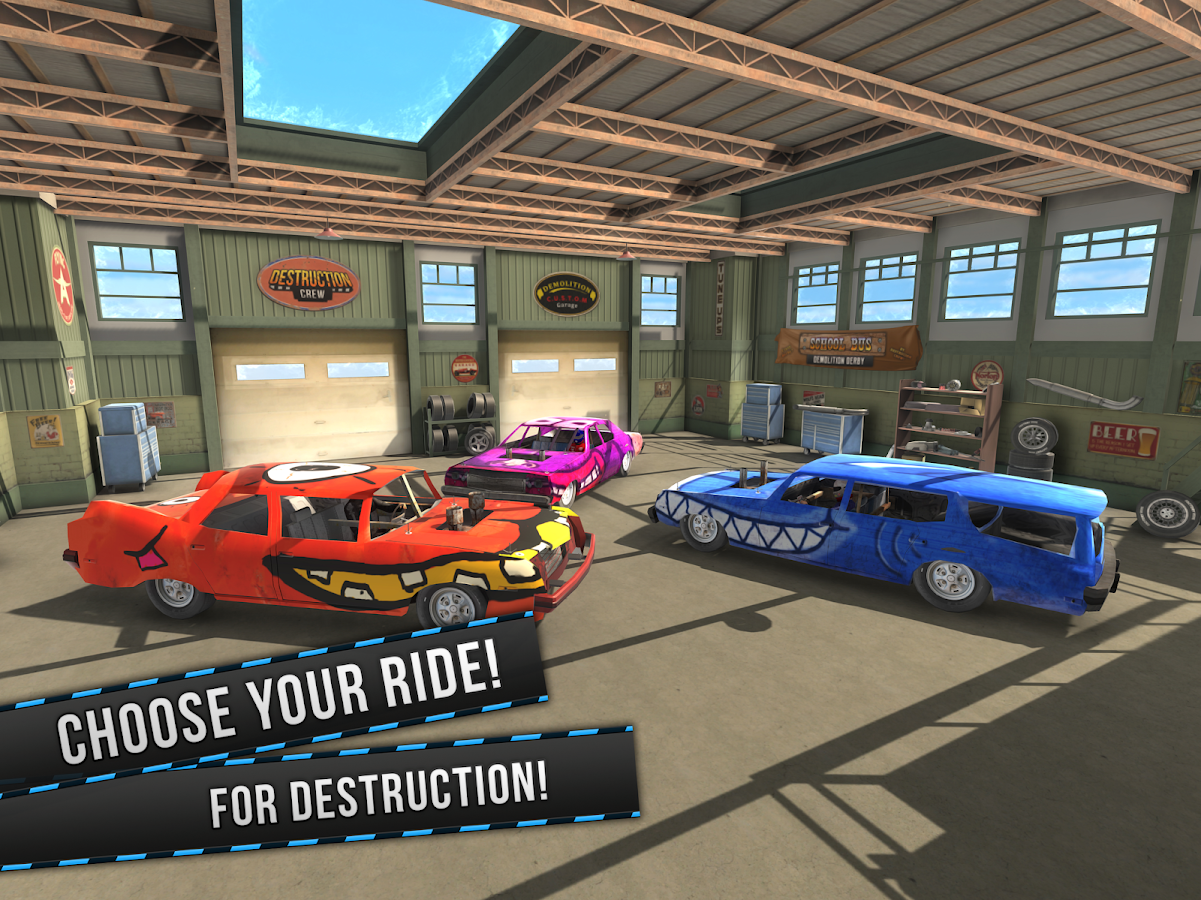 Demolition Derby VR Racing- screenshot