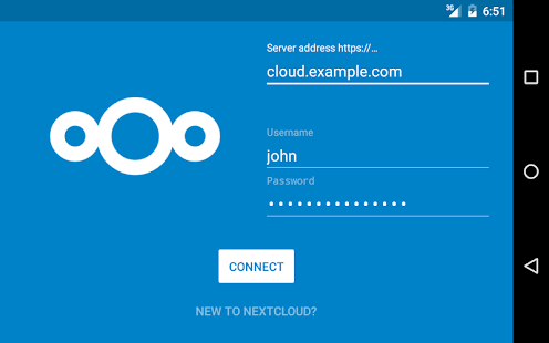 Nextcloud- miniatura screenshot