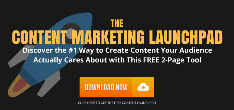 Click Here to Get the Free Content Marketing Launchpad
