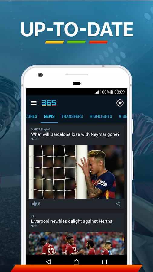 365Scores - Sports Scores Live Review