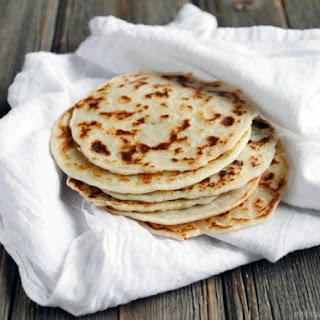 3 Ingredient Paleo Naan (Indian bread).