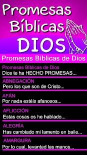 Promesas Bíblicas de Dios - náhled