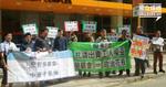 【勞顧會選舉】社政工會、職工盟投票場外抗議  批「工聯會玩哂」