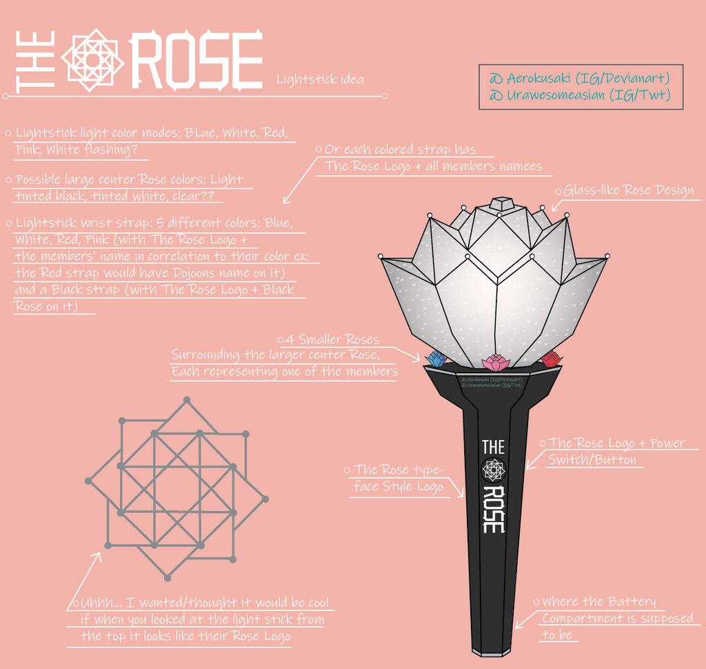 lightstick the rose aerokusaki deviantart