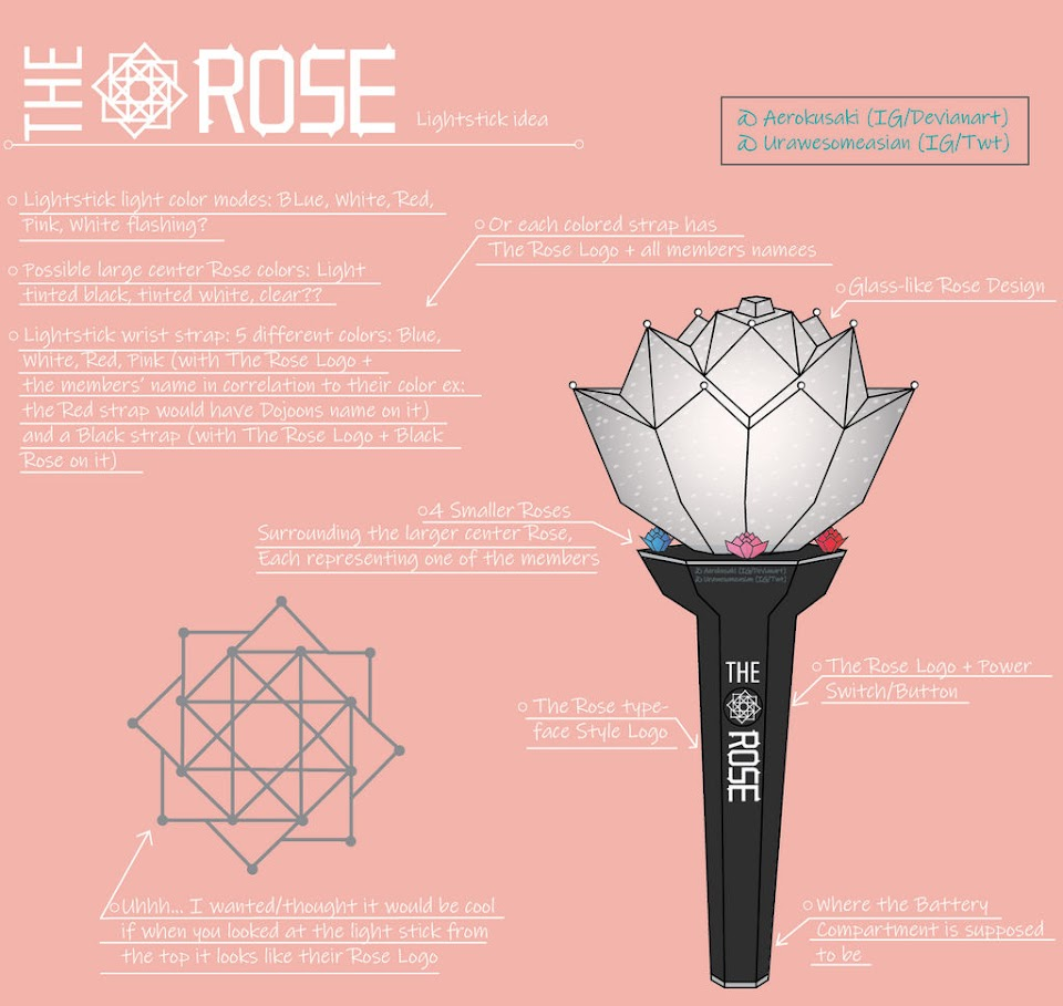 lightstick the rose aerokusaki deviantart