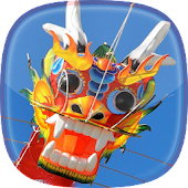 Chinese Kites Live Wallpaper