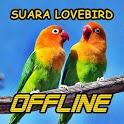 Kicau Suara Burung Lovebird MP3 Offline icon