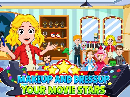 My Town : Cinema. Fun Movistar Kids Movie Night  screenshots 10
