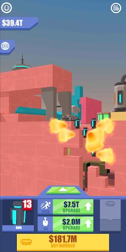 Idle Mars Digger screenshot 1