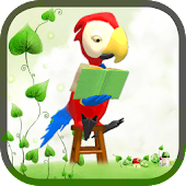 Parrot Book Read Live Wall