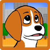 Beagle Run - Pup in the city.