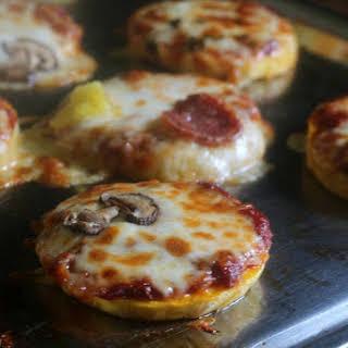 Grain-free Mini Pizzas.