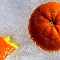 granita all'arancia di