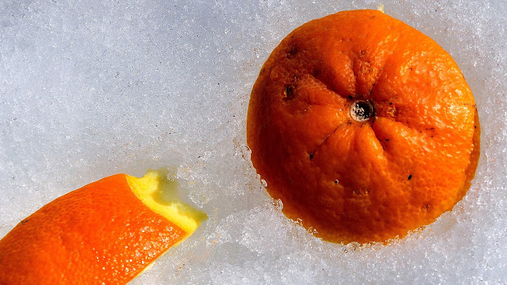 granita all'arancia di effeenne