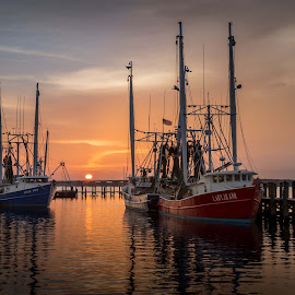 Worth The Wait by Ron Maxie - Transportation Boats
