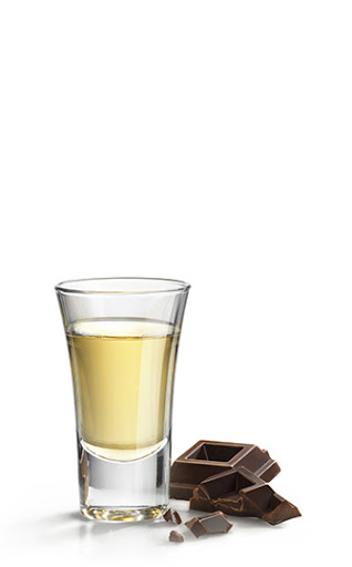 Oreo cookie frangelico shot