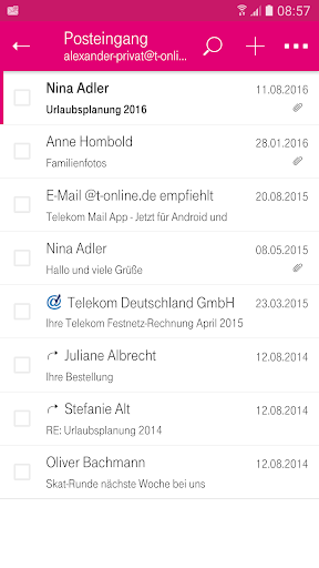 Telekom Mail screenshot 3