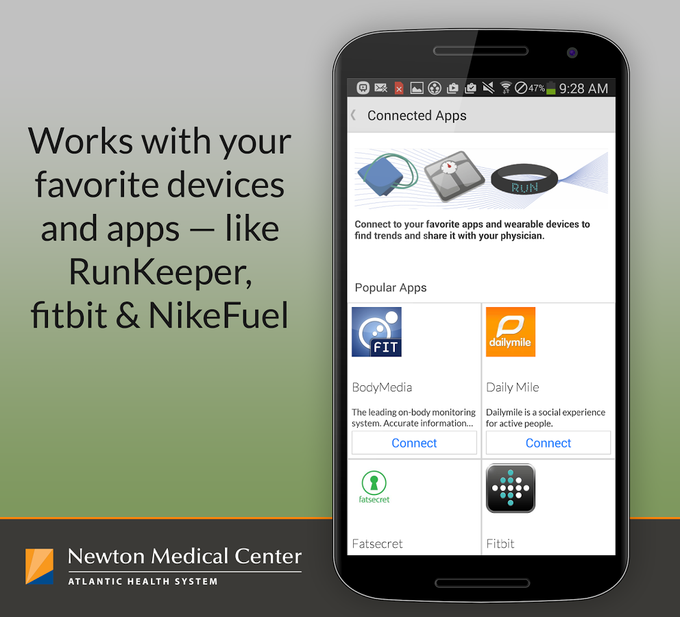 Be Well -Newton Medical Center- screenshot