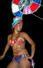 Photo: carnival, bikinis, santiago de cuba. Tracey Eaton photo
