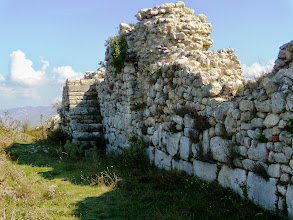 Photo: Byllis, Hellenistic city wall