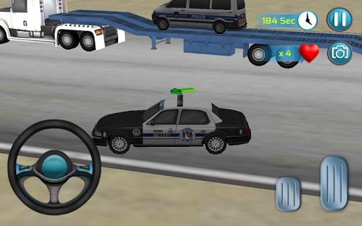 囚人警察トランスポーター