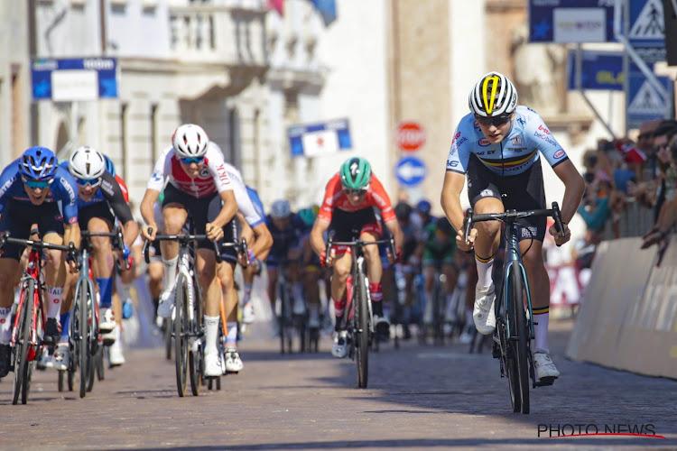 Belgische junior Van Mechelen wint sprint na de medailleplaatsen, nieuwe Europese kampioen komt uit Frankrijk