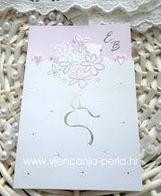 Photo: Pozivnica Bouquet Šifra: 17054 Cijena: 12,30 kn