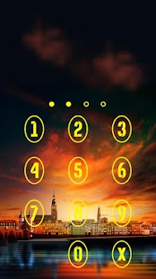 Applock Theme city 2 - náhled