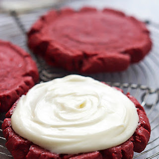 Red Velvet Sugar Cookies