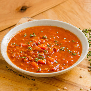 Blended Lentil Soup Recipes
