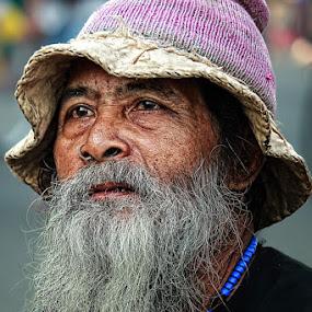 Old men by Caraka Pamungkas - People Portraits of Men