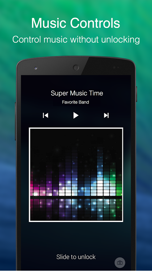 Echo Notification Lockscreen- screenshot