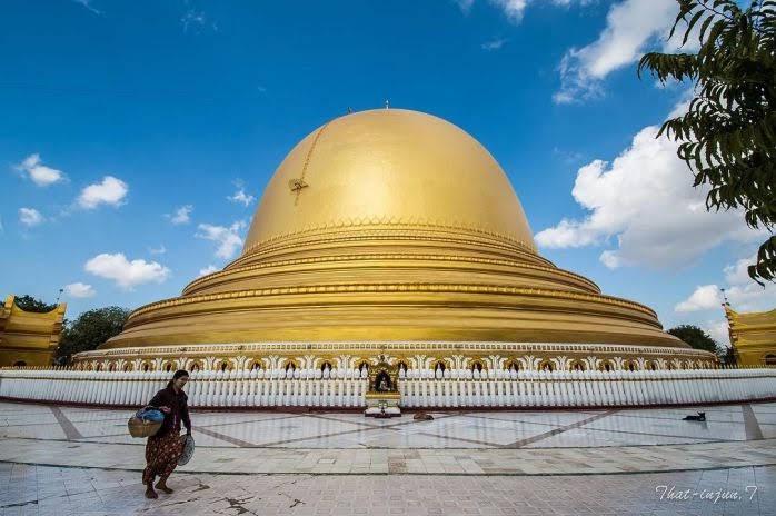 Tu viện hình vòm thếp vàng Kaung Hmu Daw
