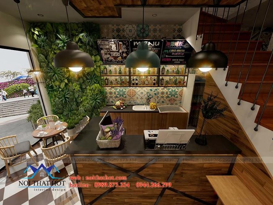 Thiết kế quán cafe đẹp và sang trọng