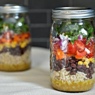 Fiesta Confetti Mexican Salad-in-a-Jar