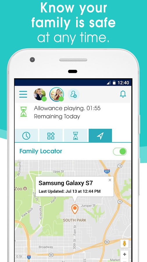 OurPact – Parental Control & Screen Time Manager- screenshot