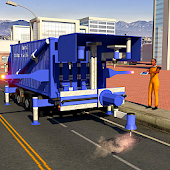 Pothole Repair Road Construction: Heavy Duty Truck