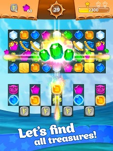 Treasure hunters match-3 gems Hack for the game