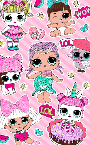 Indir Cute Dolls Lol Glitter Coloring Book Apk Son Surumu