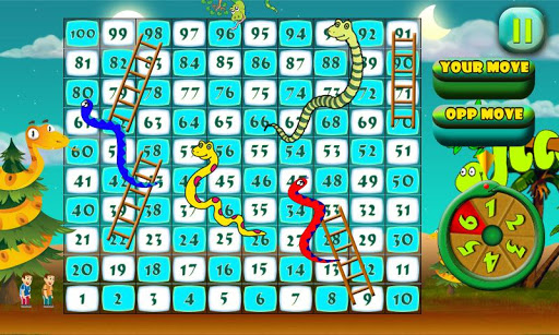 Snakes N Ladders The Jungle Fun Game 1.0 screenshots 2