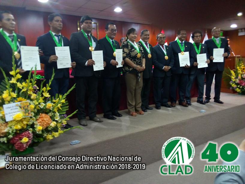 JURAMENTACION CLAD CDN 2018-2019