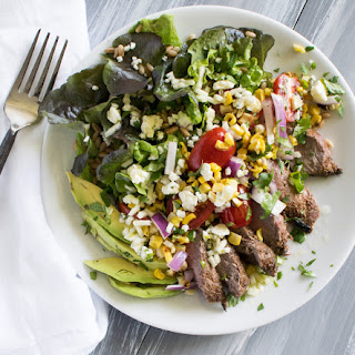 Grilled Chipotle Lime Steak Salad Recipe