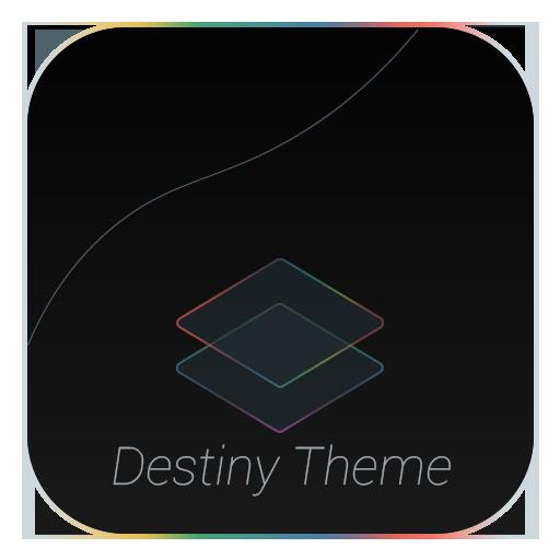 Substratum DestinyBlack Theme app for Android