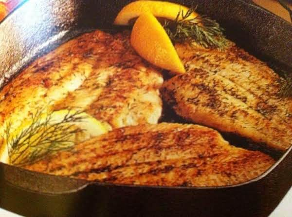 Sole In Herbed Butter