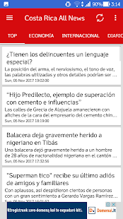 Costa Rica All News - náhled