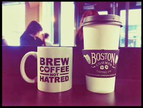 Photo: 3.30.14 Hollaback! Boston hosted a HOLLAoffline event – a time for coffeehouse chatter and movement building.